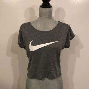 Nike dri-fit crop top women's size Medium